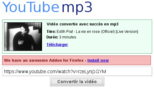 video convertie avec succes