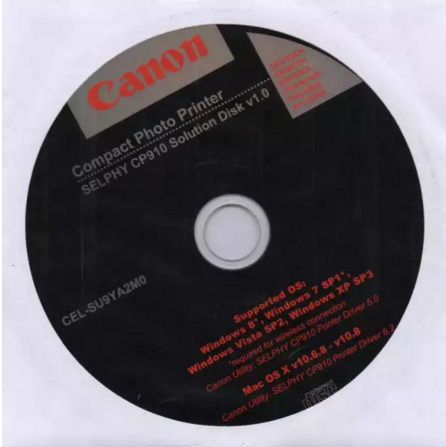 CD ROM SELPHY CP910 Solution Disk