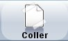 onglet coller