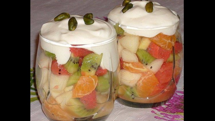 Petites verrines de fruits