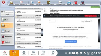 Configuration simple de l'application Mail